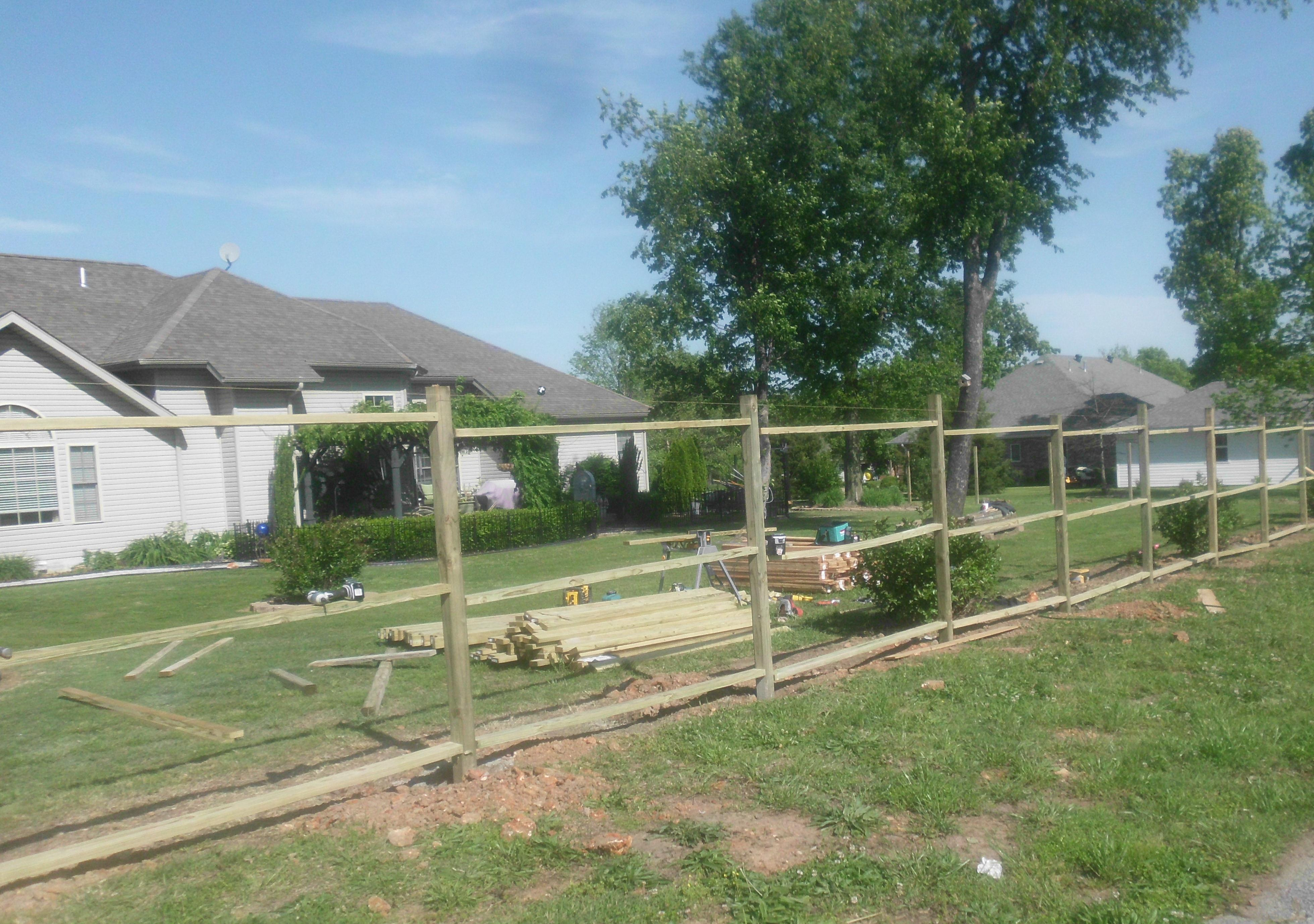 DeGraff Construction llc cedar fence