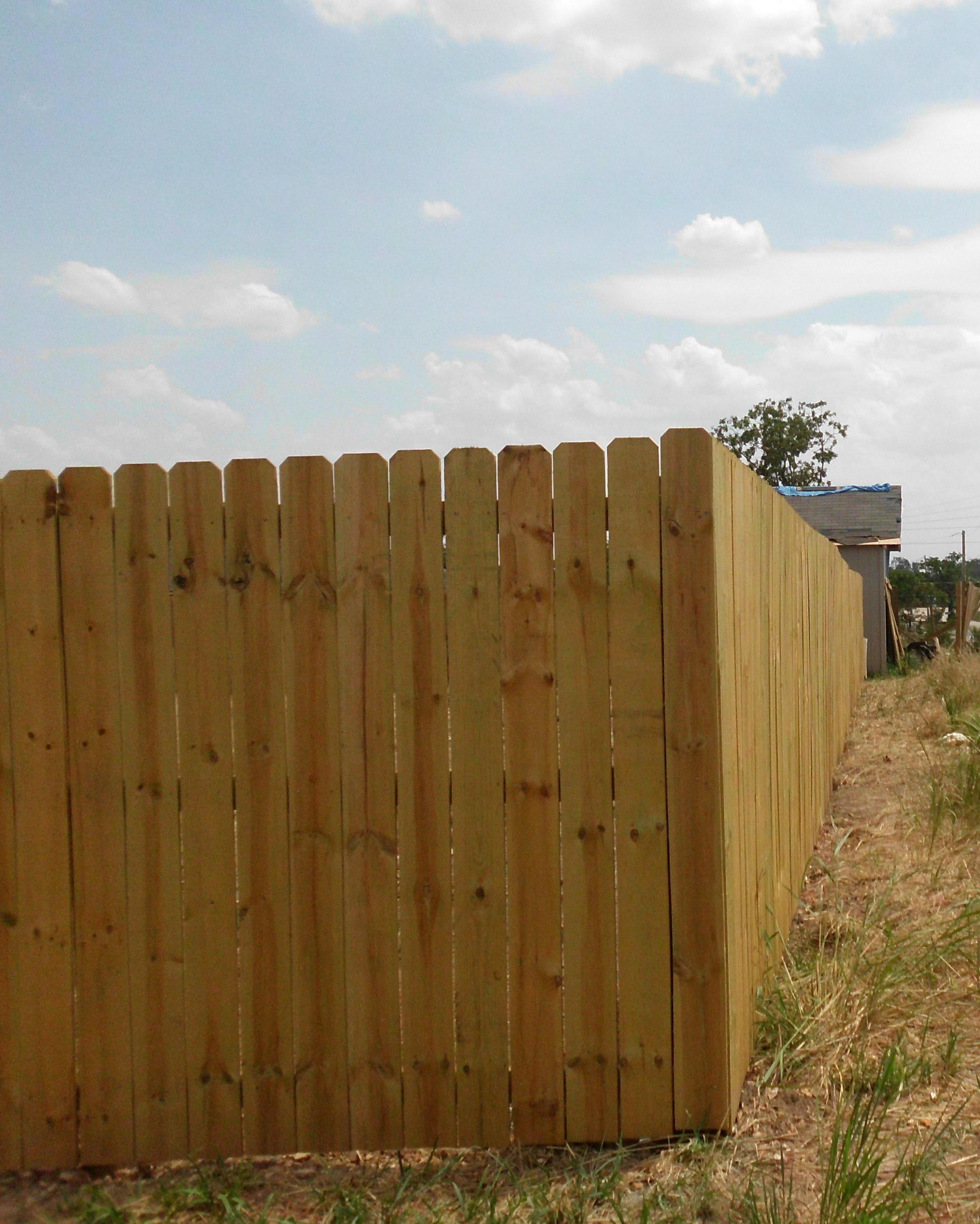 DeGraff Construction LLC Privacy Fence