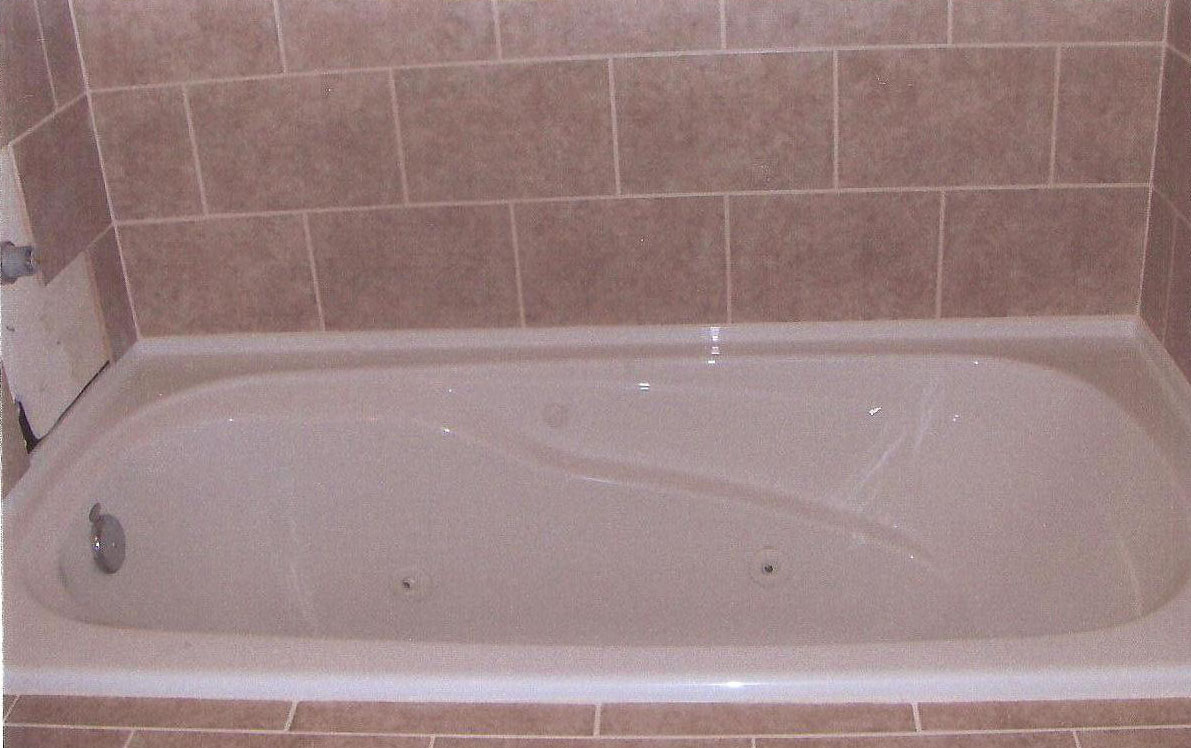 bathtub after